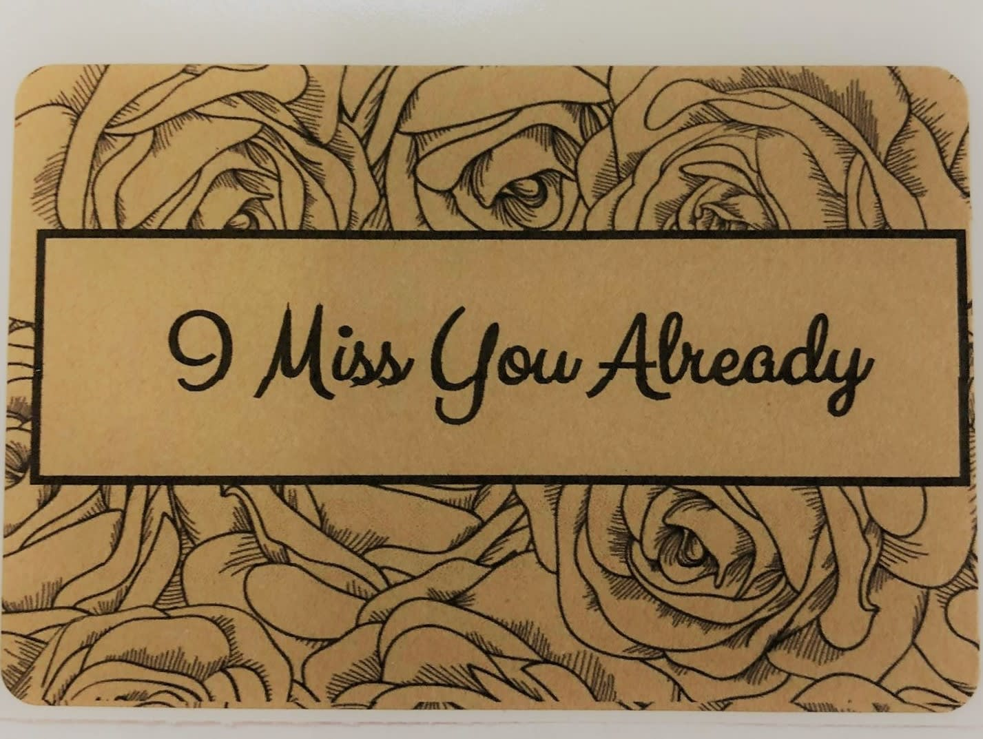 I Miss You Already Add On For Message Candle Label In Tell City In