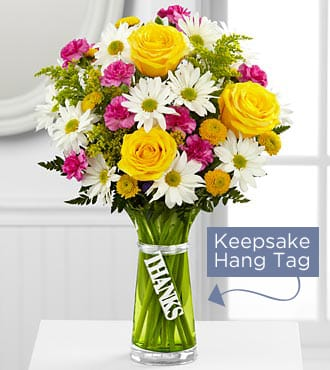 The Ftd Thanks Bouquet In Boca Raton Fl Exceptional Flowers Gifts