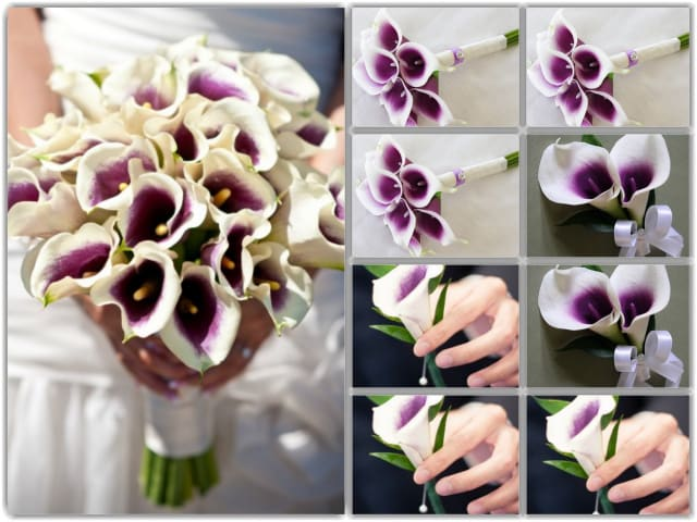 Picasso Mini Calla Lily Wedding Package By Vip Floral Designs