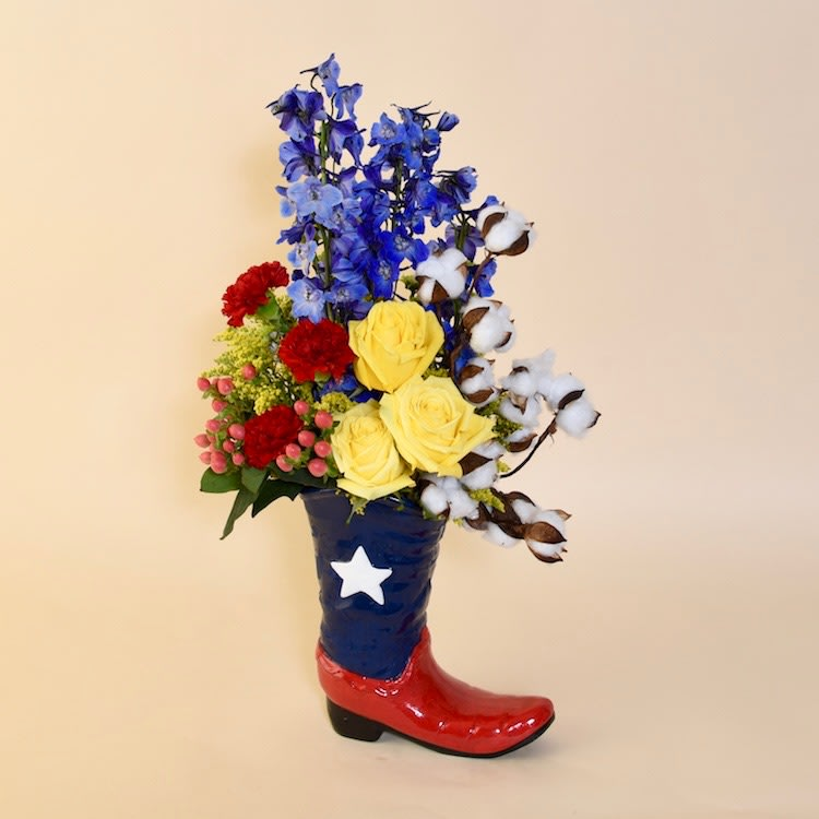 McShan Yellow Rose of Texas Bouquet