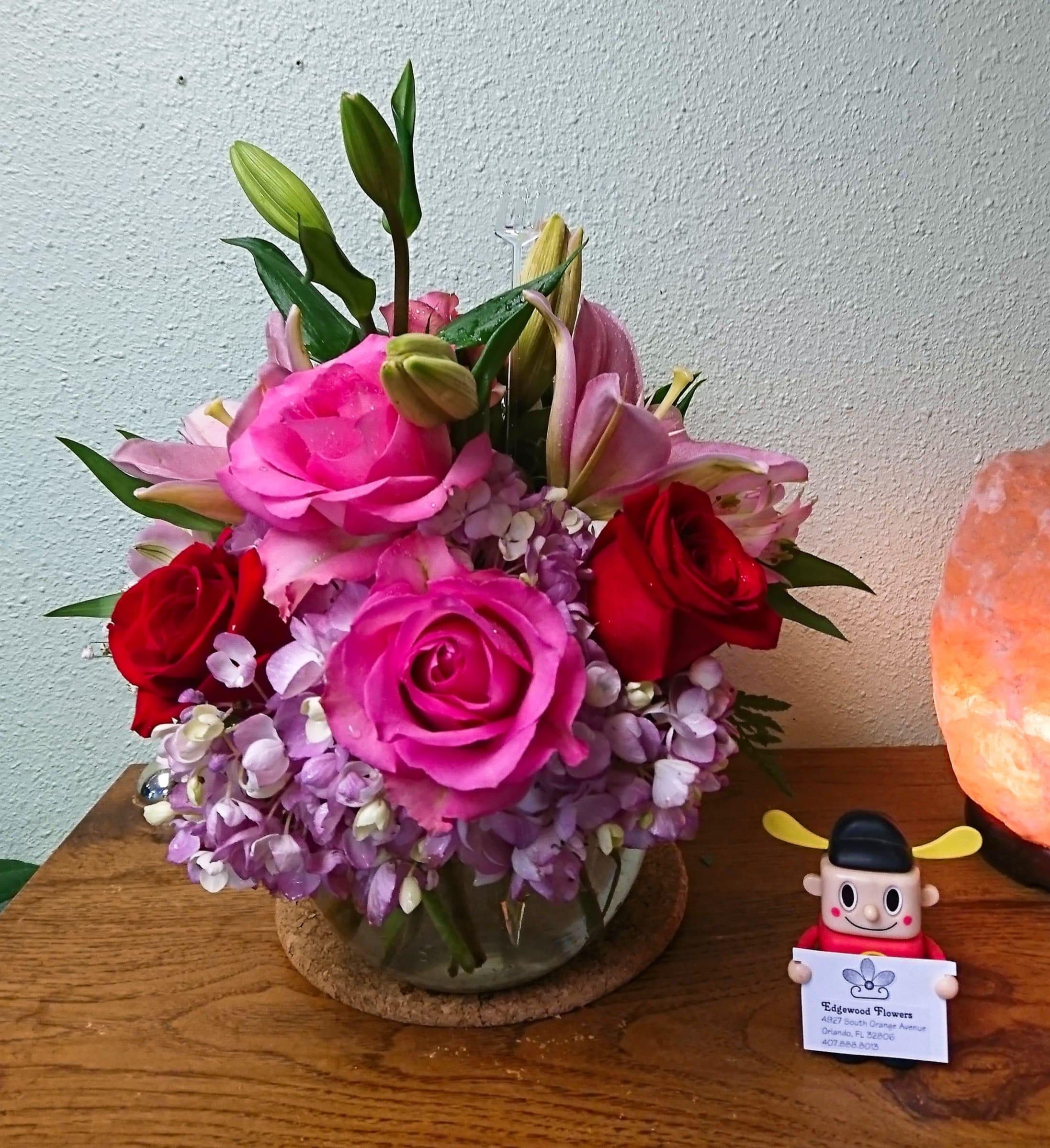 Happy Anniversary Flower Bouquet
