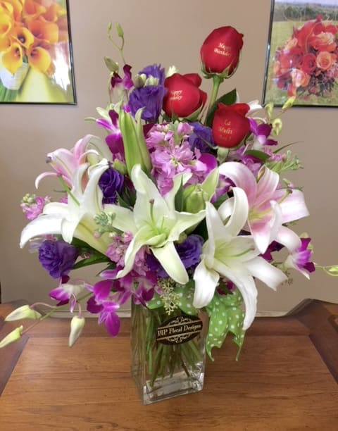 Happy Birthday Beautiful By Vip Floral Designs