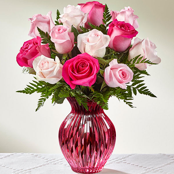 The Ftd Happy Spring Mixed Rose Bouquet In Seattle Wa