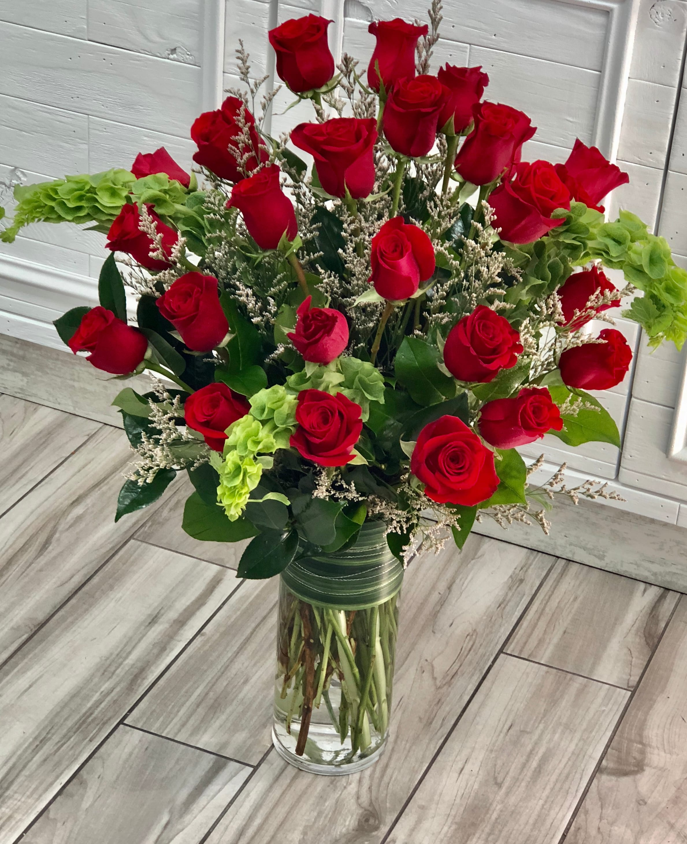 Long Stem Red Roses Bouquet In Las Vegas Nv Rosy Flowers Event Design