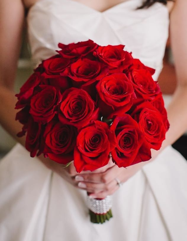 Red Rose Wedding Bouqet.Red Roses Bridal Bouquet In Las Vegas Nv Vip Floral Designs