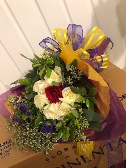 Circle of Love Arm Bouquet