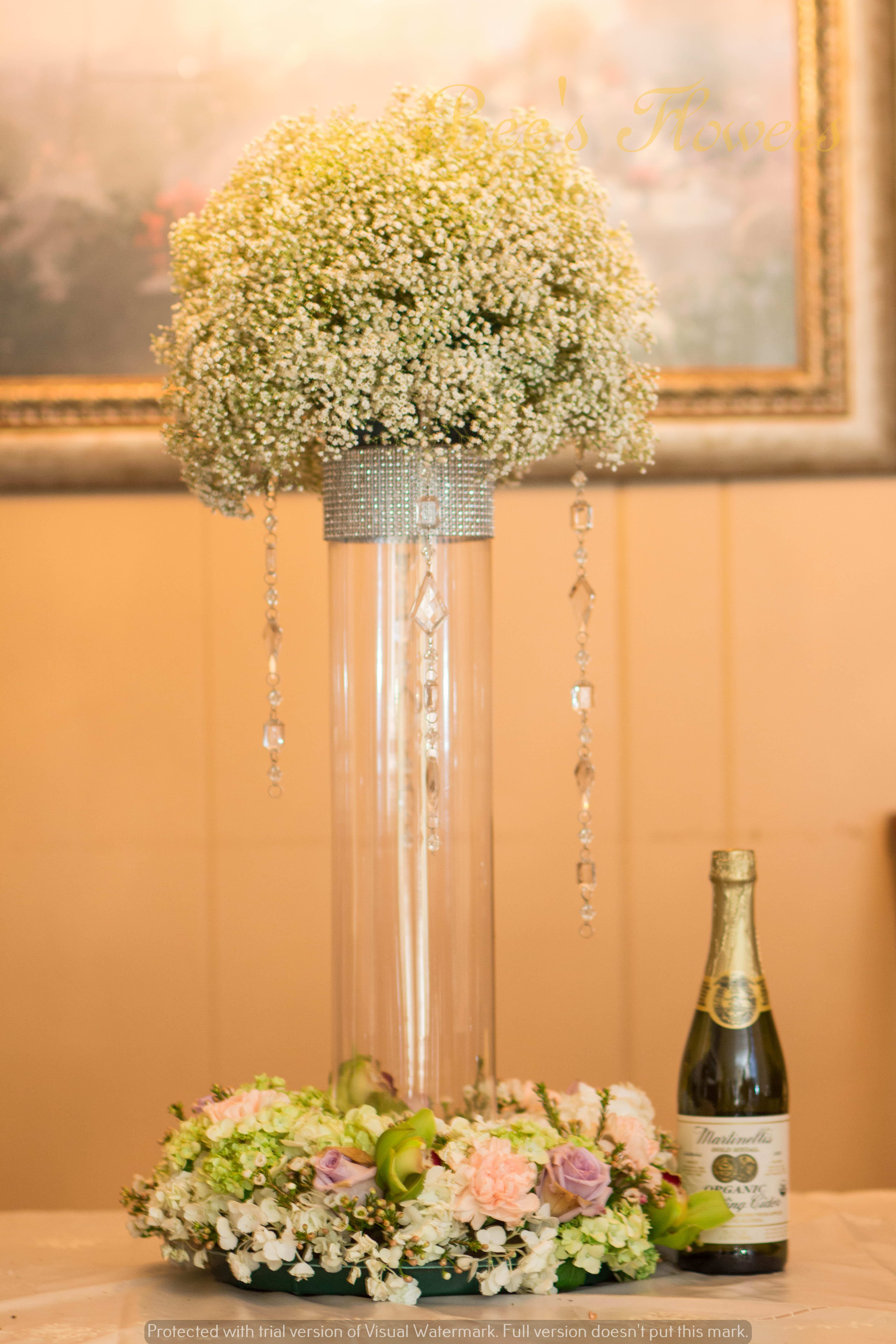 Tall Centerpiece Set In San Jose CA