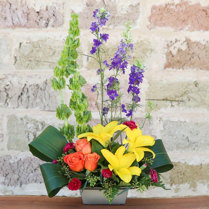 Contemporary Floral Arrangement In San Antonio Tx Heavenly