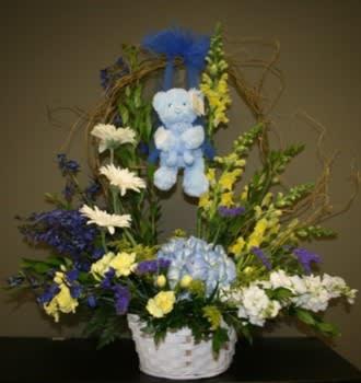 Rock A Bye Baby Boy In San Diego Ca Flowers By Coley