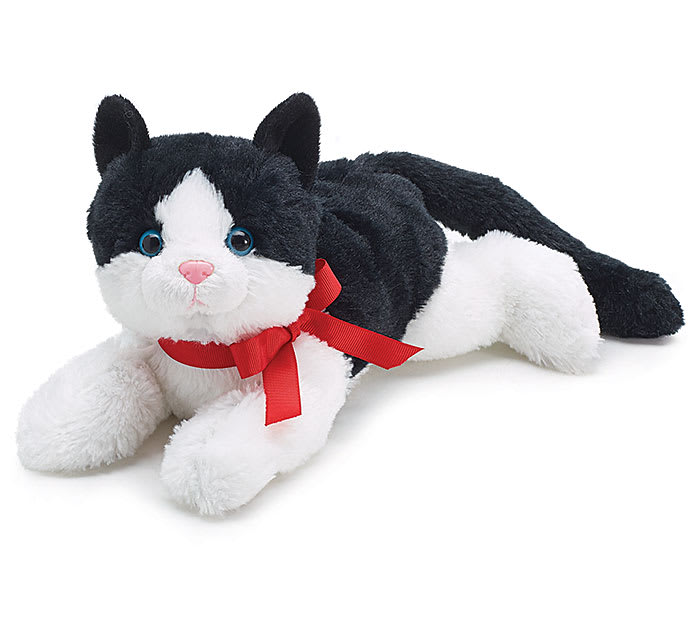 Plush Black White Cat In Saint Louis Mo Alex Waldbart Florist