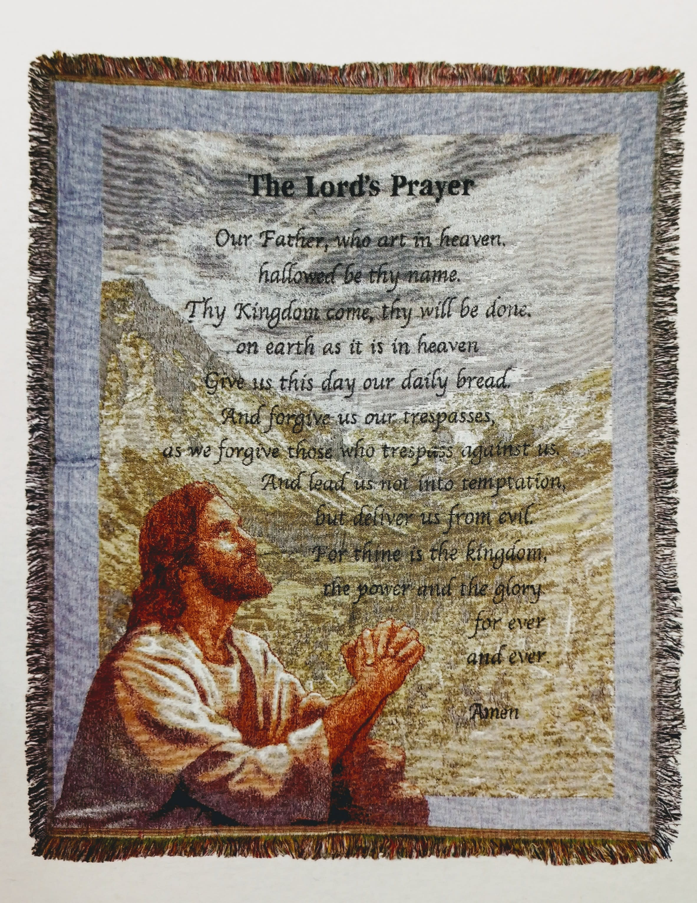 83f899e46d32a The Lord's Prayer Tapestry in Carrollton, KY | Blooms Floral Studio