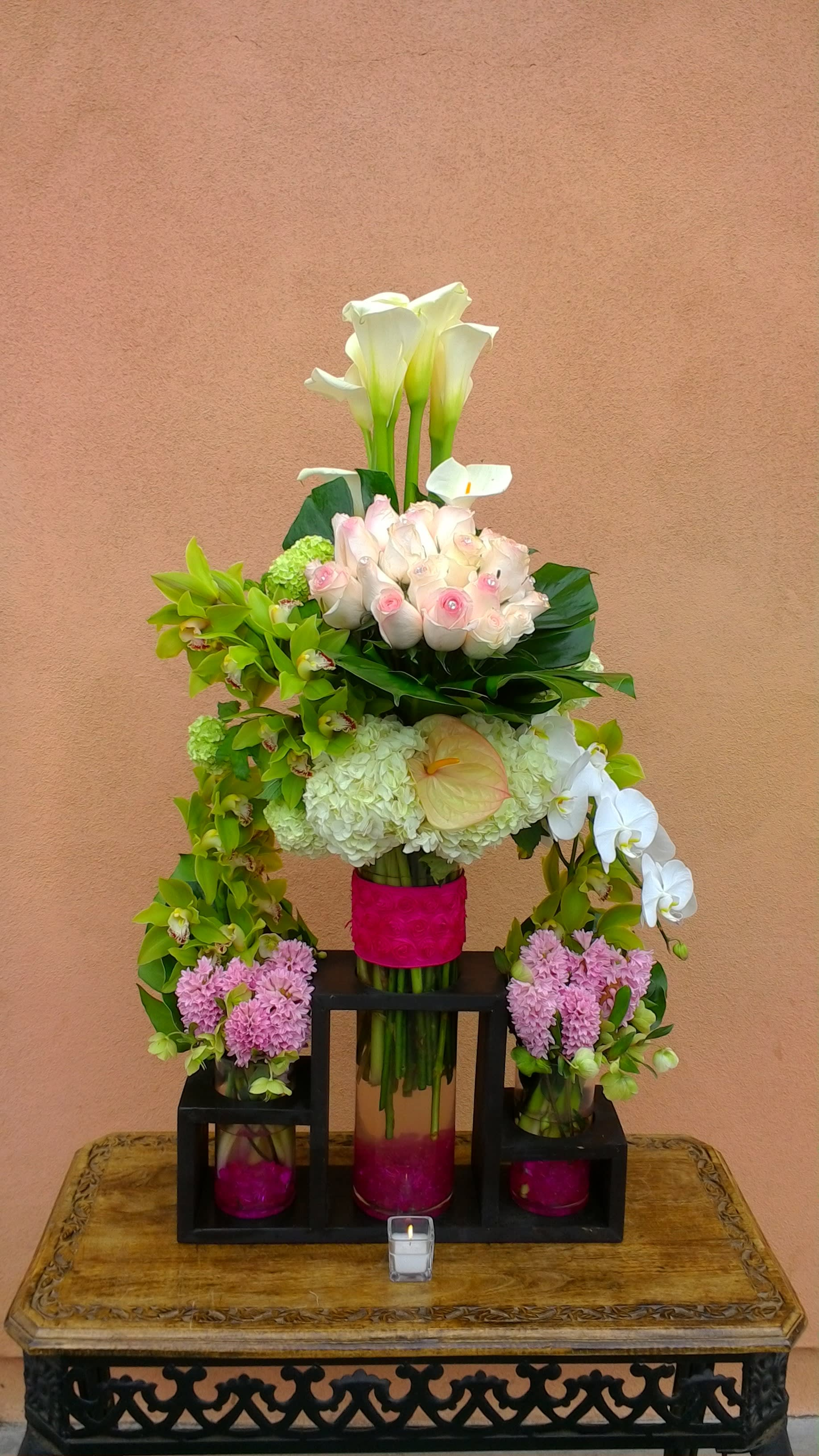 Special Arrangement 4 By Flowers And Designs By Gina