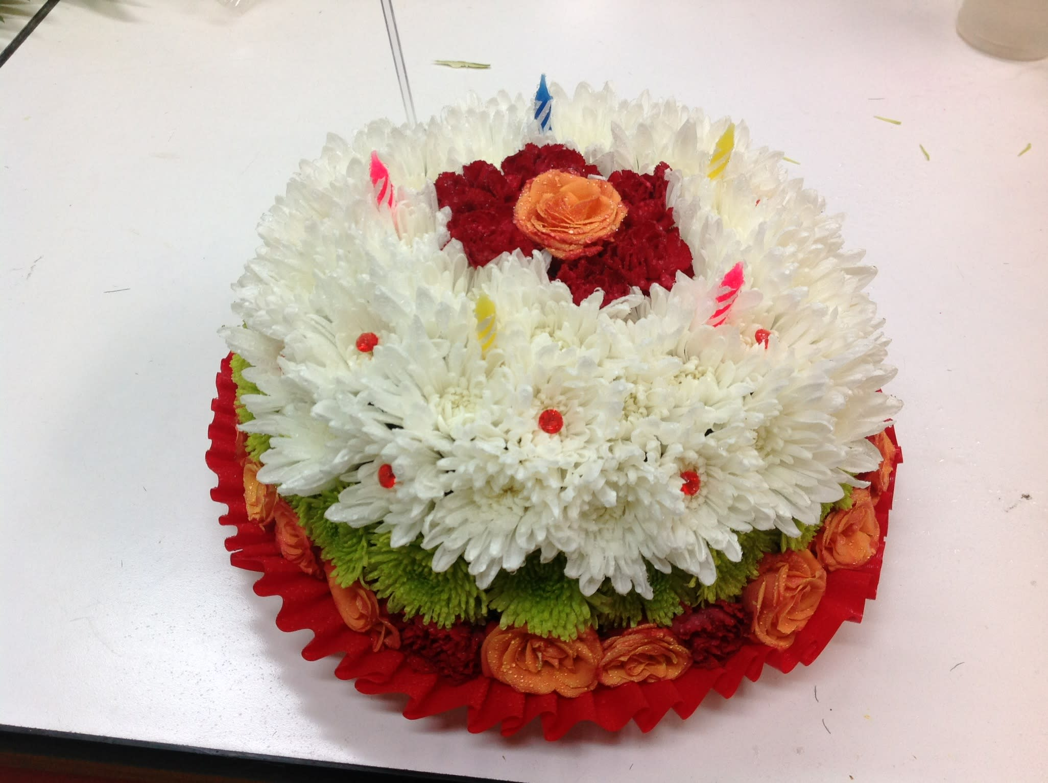 Flower Birthday Cake In Portland OR