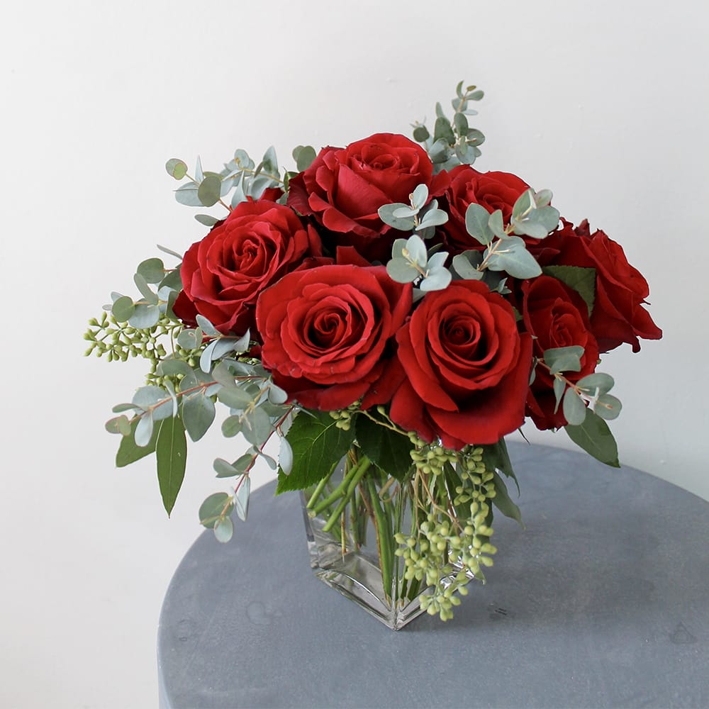 Divine Wedding Flowers: Divine Red Roses In Portland, ME