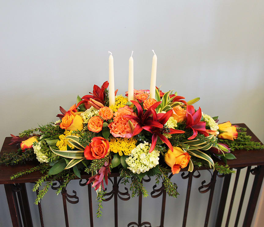 Autumn Centerpiece By Bloom With Jenna