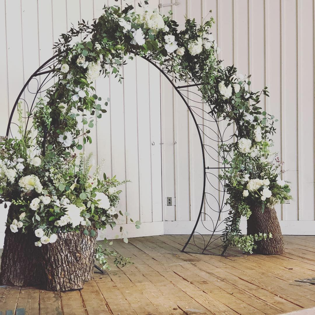 Flower Arch For Wedding: Moongate Wedding Arch In Granbury, TX