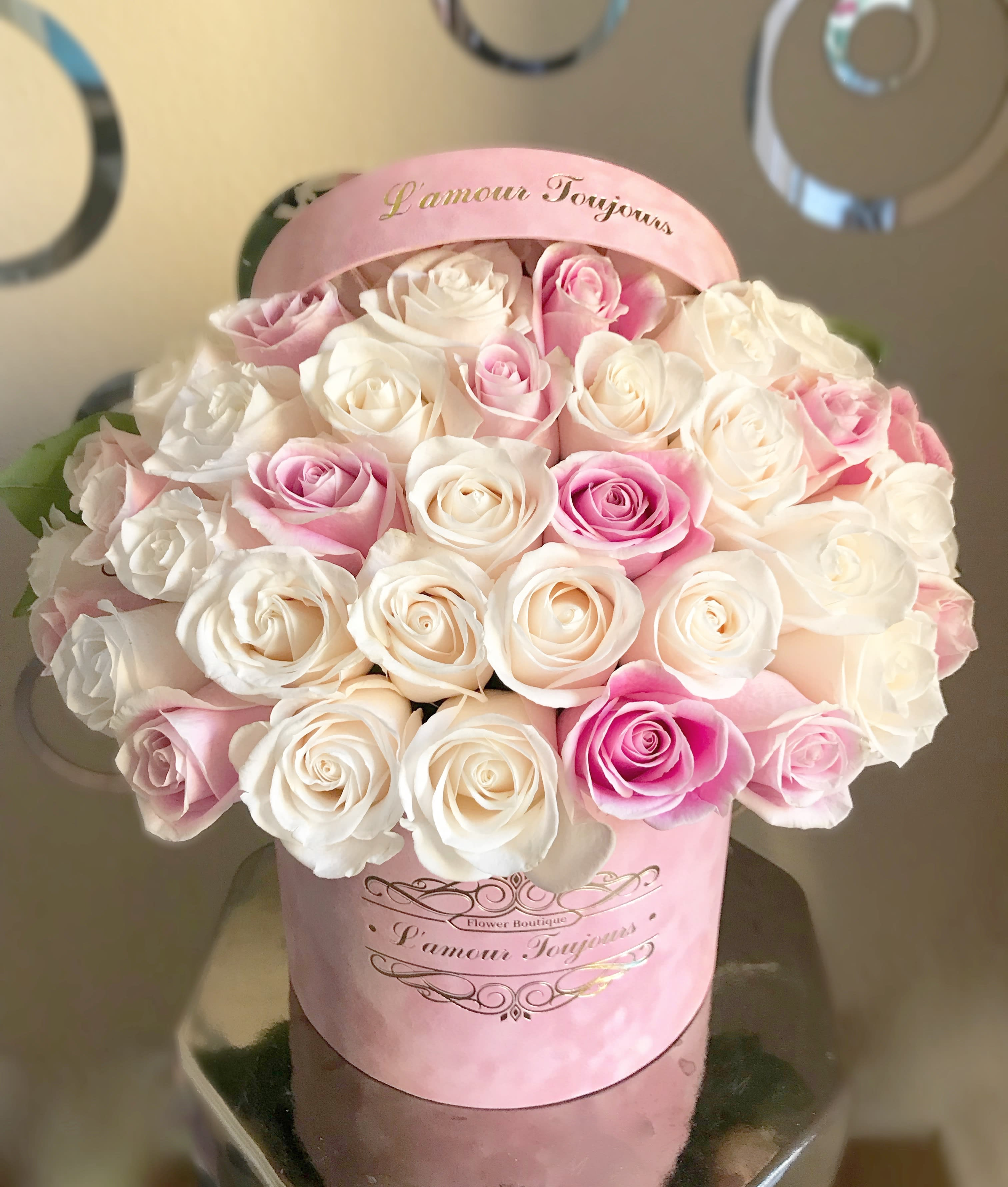 Pink Velvet Signature Box in Newport Beach, CA | L'amour ...