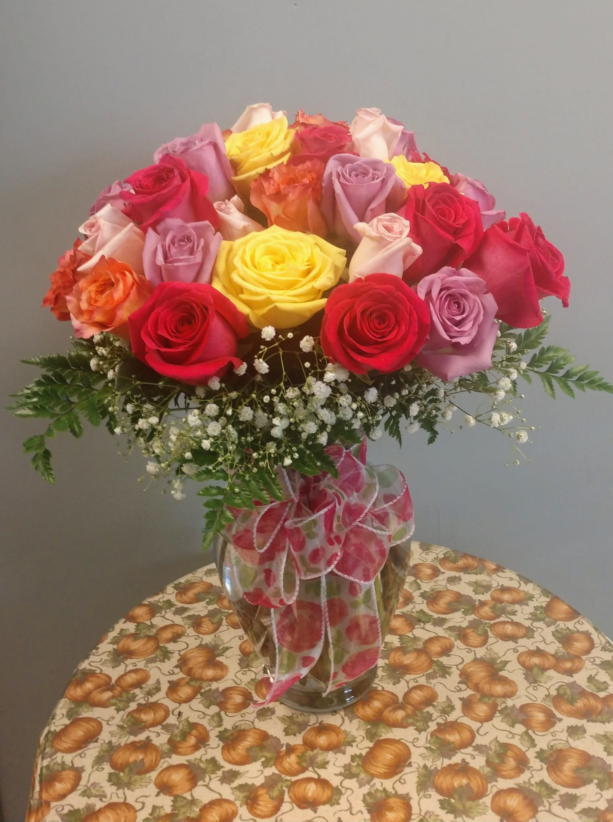 Three Dozen Roses In Carrollton Ky Blooms Floral Studio