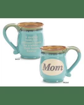 Mint Green MOM/Message Porcelain Mug in Smyrna, GA | Floral Creations  Florist