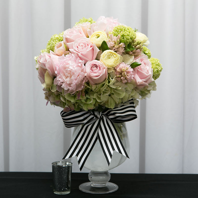 Peonies Ranunculus Hydrangea And Roses Pave Style Cel 300 In