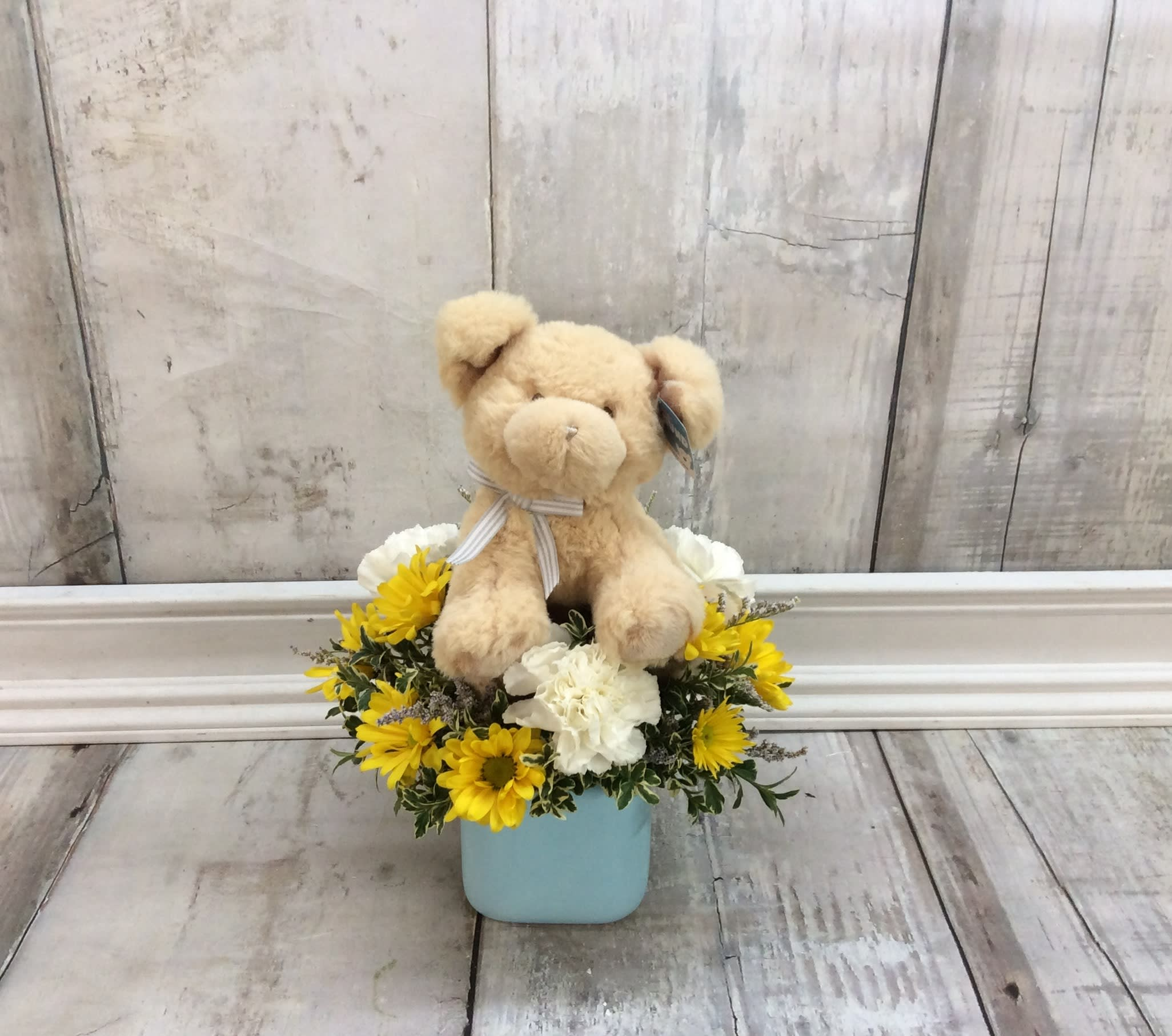 Oh Baby Boy Arrangement In Camdenton Mo Janines Flowers
