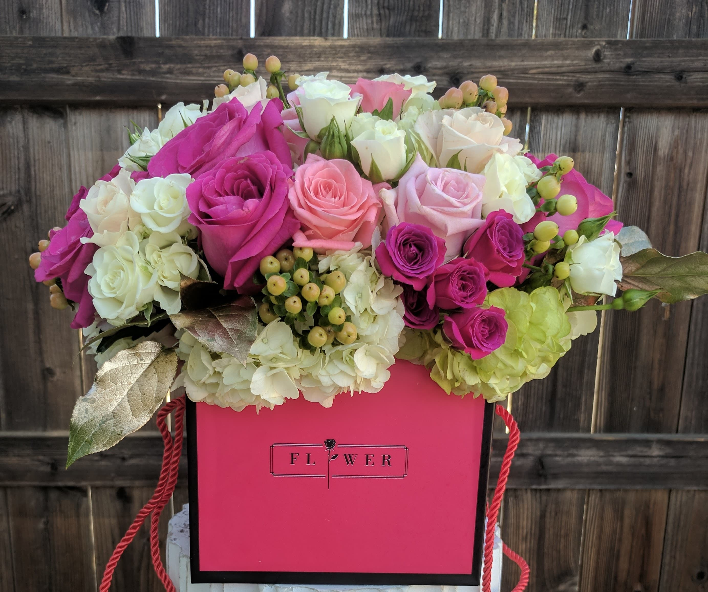 Fabulous Flower Box Let Us Pick The Prettiest One For Your Special Order