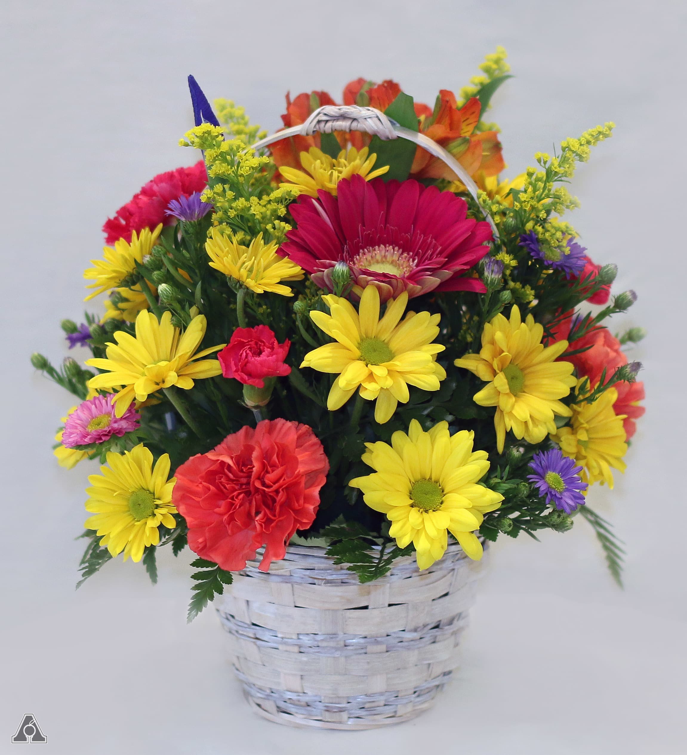 Basket Full Of Good Wishes In Amherst Ma Atkins Farms Flower Shop