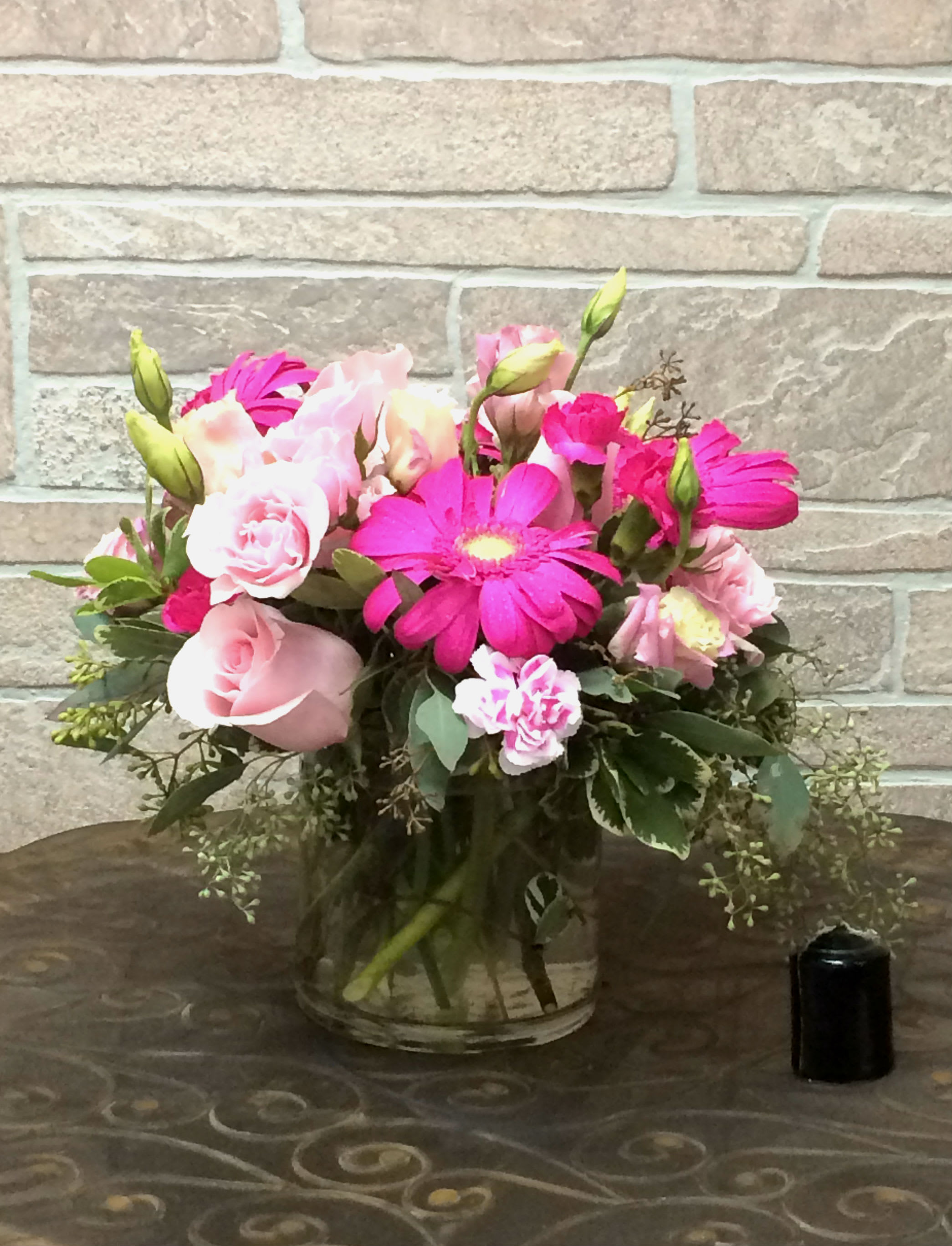 Glamorous Pink Bouquet Uf16 45 In College Station Tx University