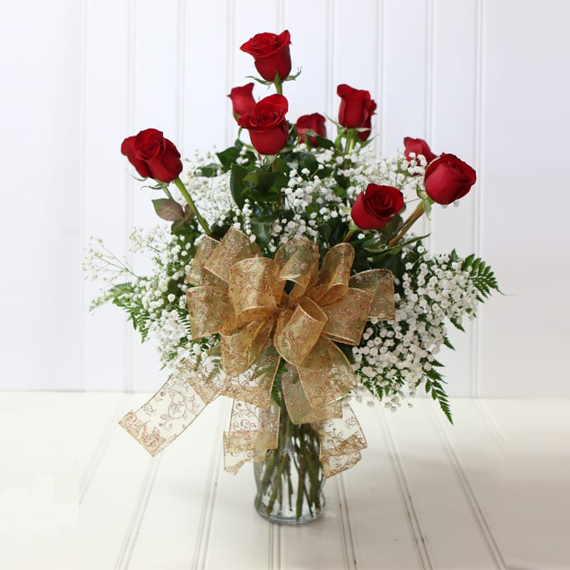 Dozen Roses In Spring Lake Nc Skyland Florist And Gifts