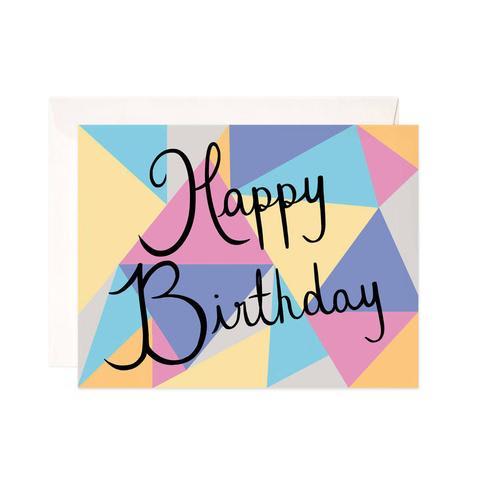 Geometric Birthday Card In Kennewick WA