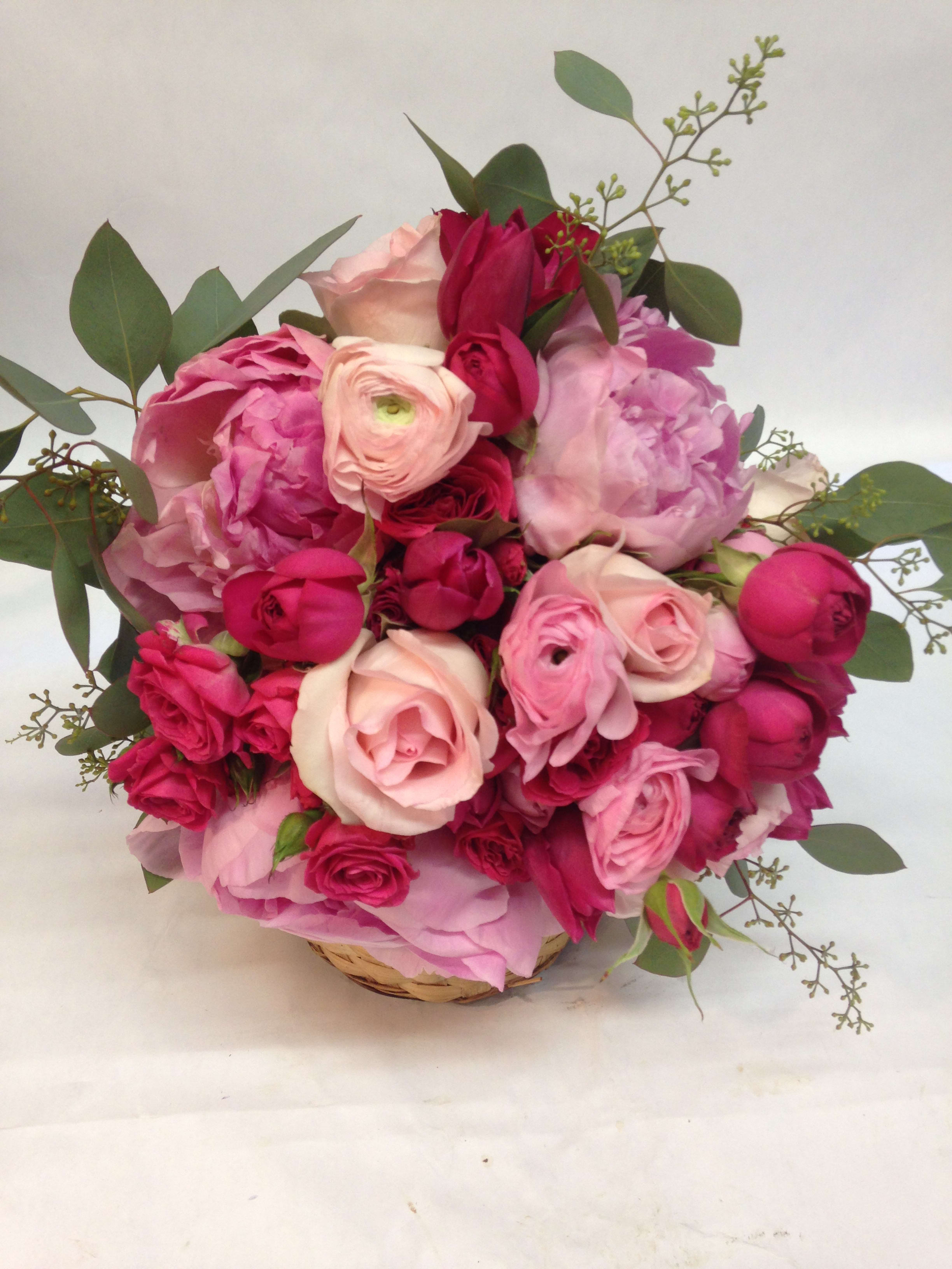 Bright And Beautiful Bridal Bouquet In San Francisco Ca Flowers Of