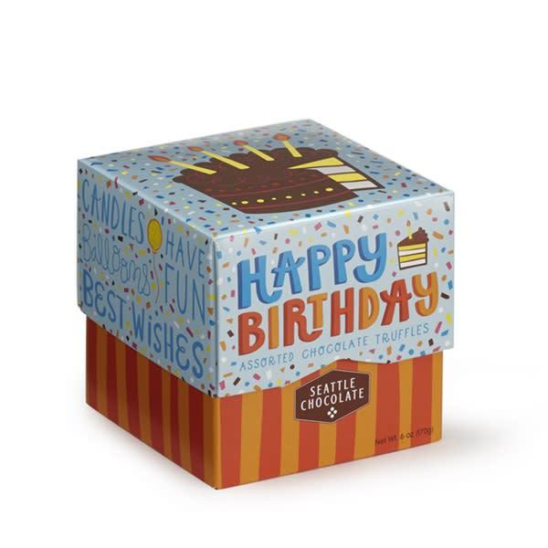 Happy Birthday Seattle Chocolates