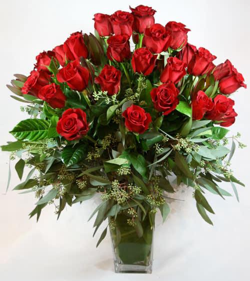 2 Dozen Roses In Atlanta Ga Chelsea Floral Designs