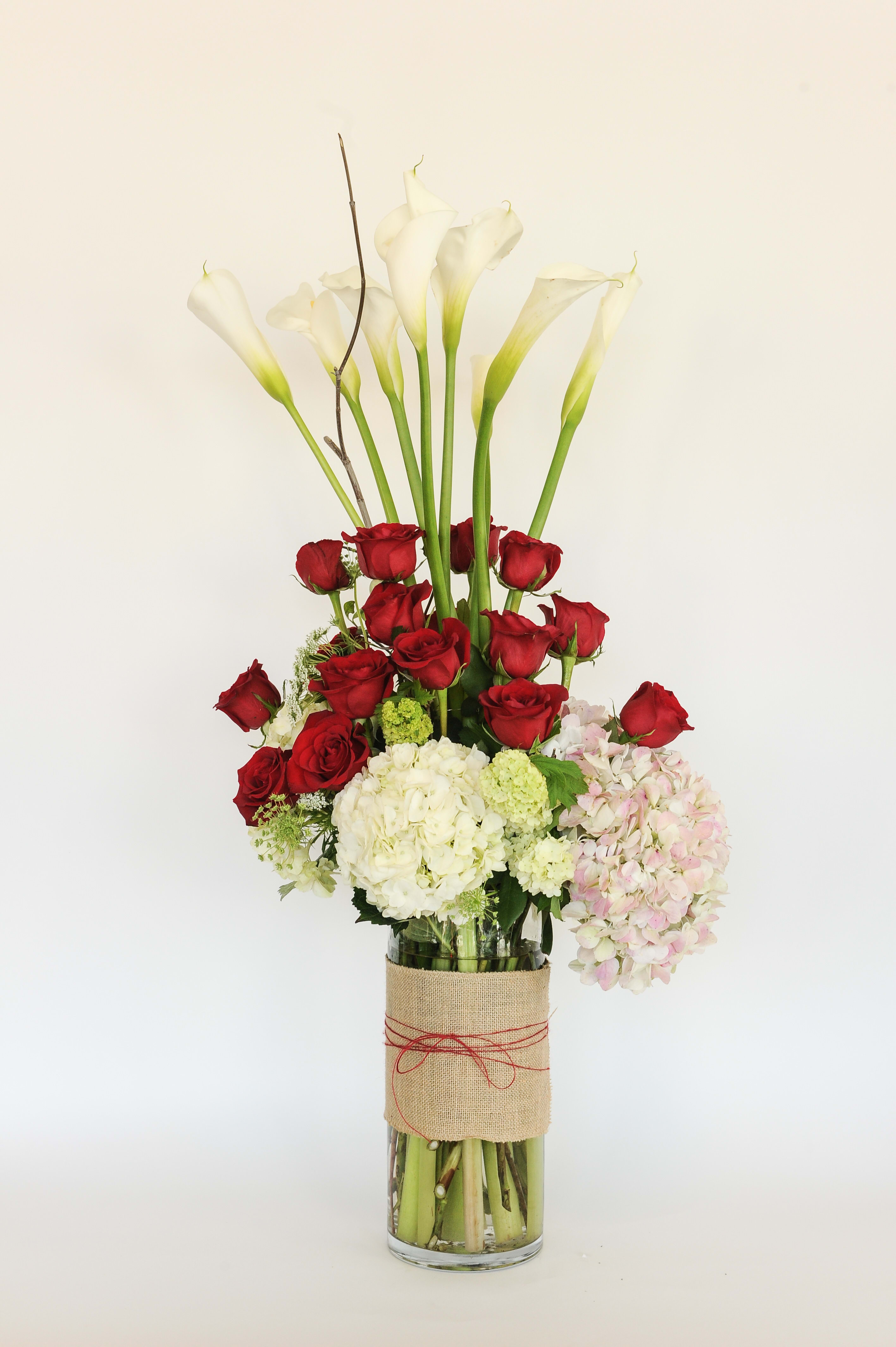 Extravagant Flower Arrangement By Flowers By Ivy