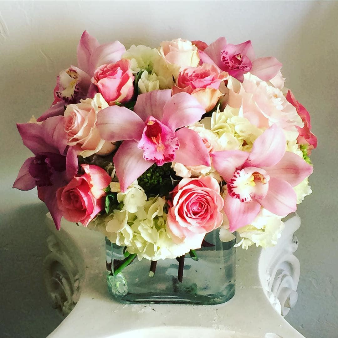 Pretty Pink Lady In Eureka Ca Mary Hana Flowers
