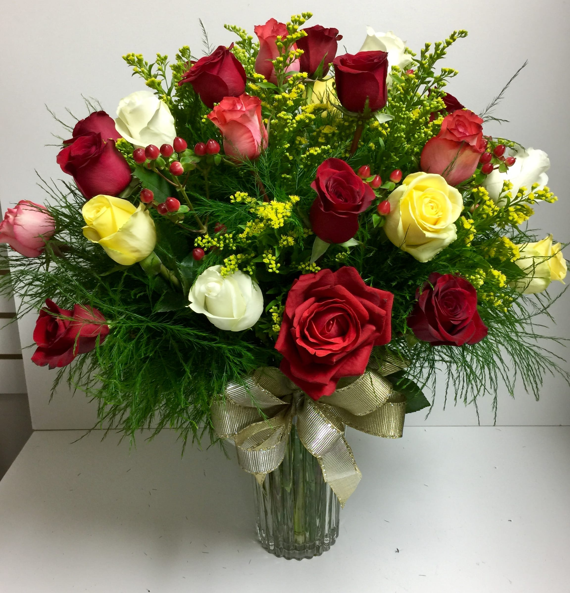 Flowers By Rose Assorted Rose Bouquet in Richmond Hill, GA | Flowers by Rose