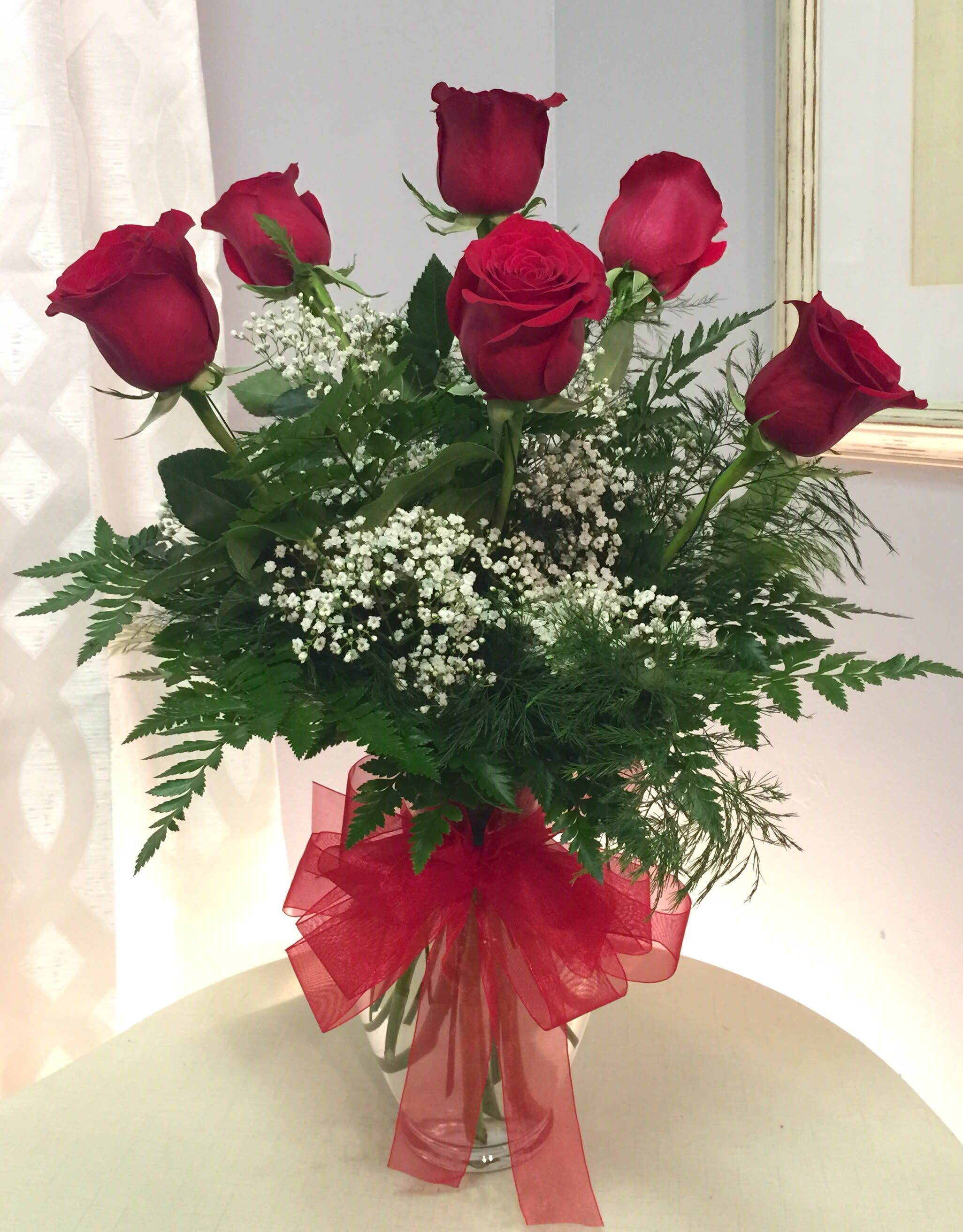 Half Dozen Roses In Ponchatoula La Especially For You Florist