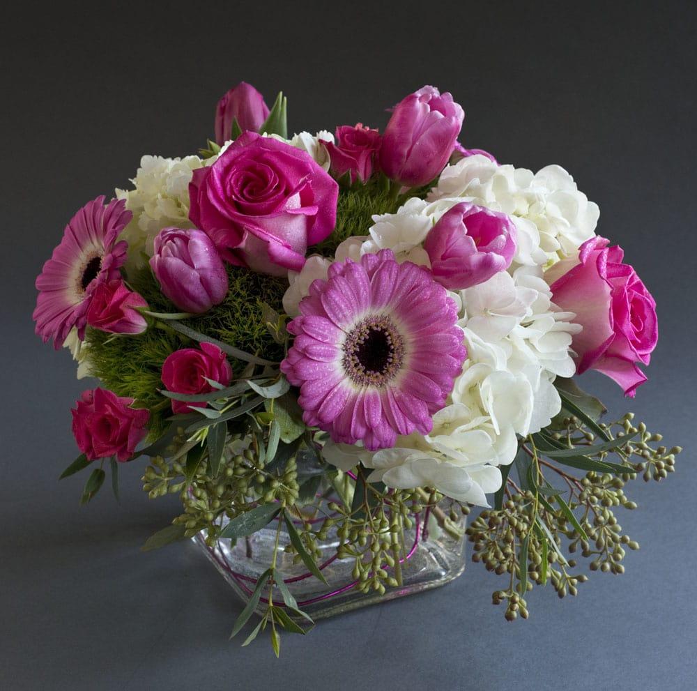 Pretty In Pinks In Zionsville In Zionsville Flower Company