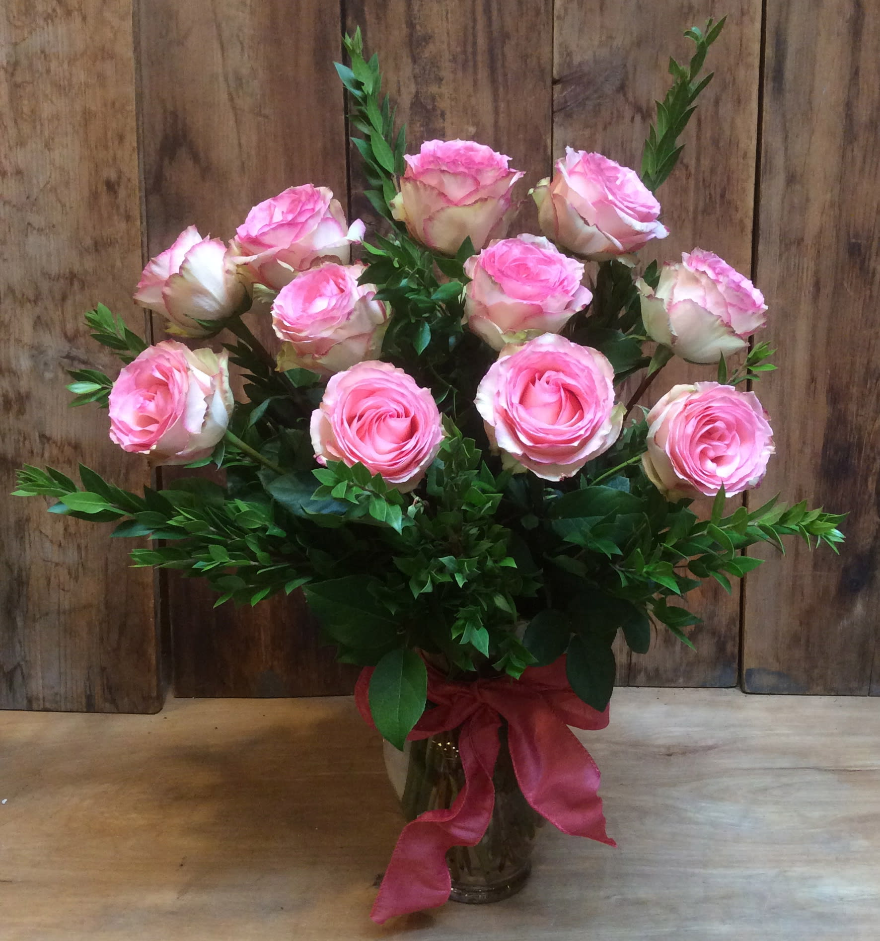 Long stem Esperance cabbage roses - Esperance, the French word for hope, is the