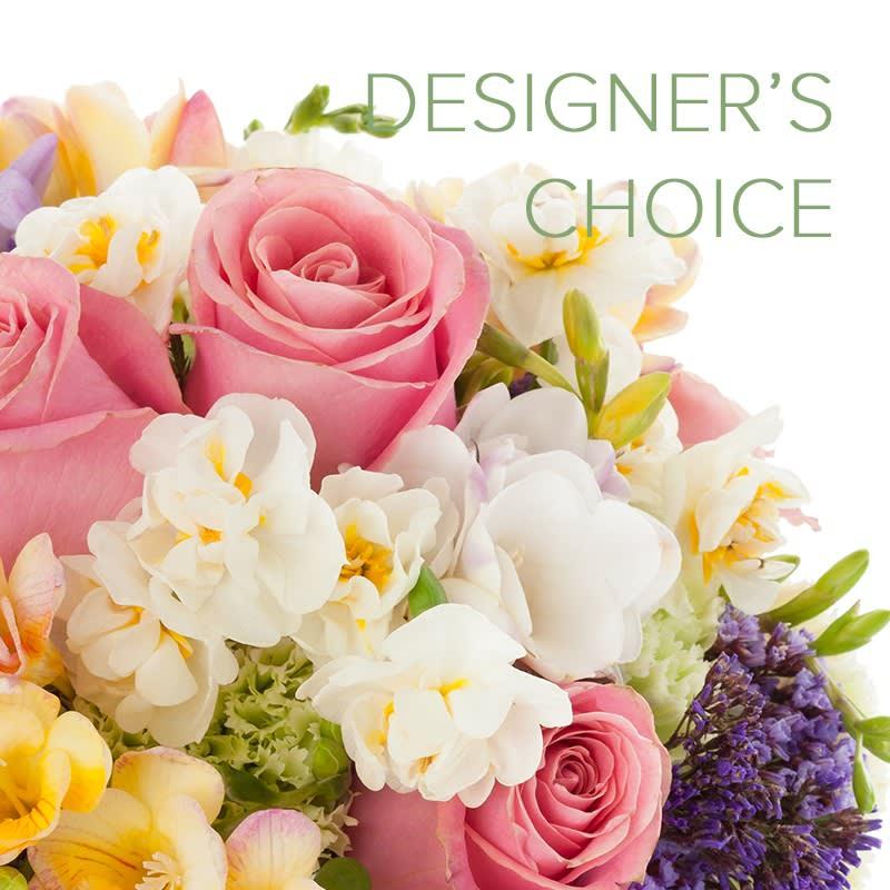 Dee's Flowers Designer's Choice SPRING COLORS Arrangement