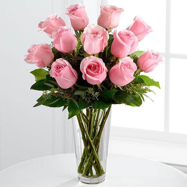 The Ftd Pink Rose Bouquet In Pitman Nj Rosebud Floral Art