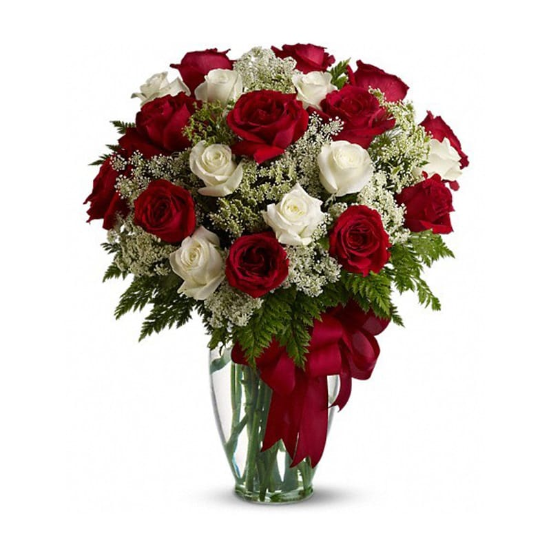 Loves Divine Bouquet Long Stemmed Roses T11z101a