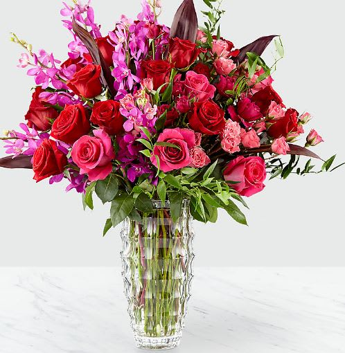 Hearts Wishes Luxury Bouquet By FTD