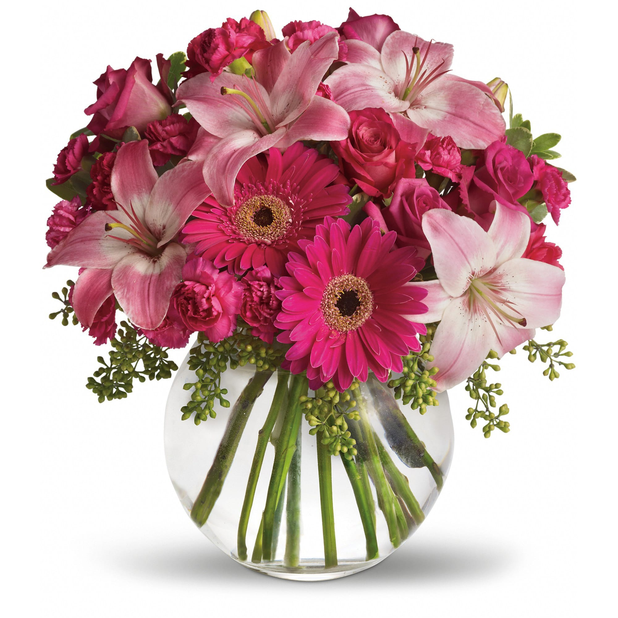 A Little Pink Me Up In North Easton Ma Green Akers Florist Ghses
