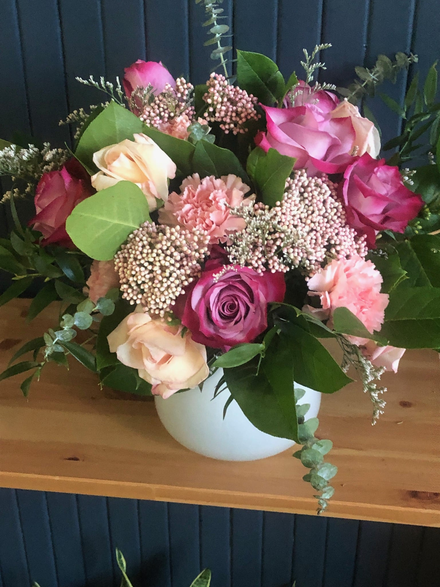 Four Shades Of Pink In Boston Ma Market Floral Studio
