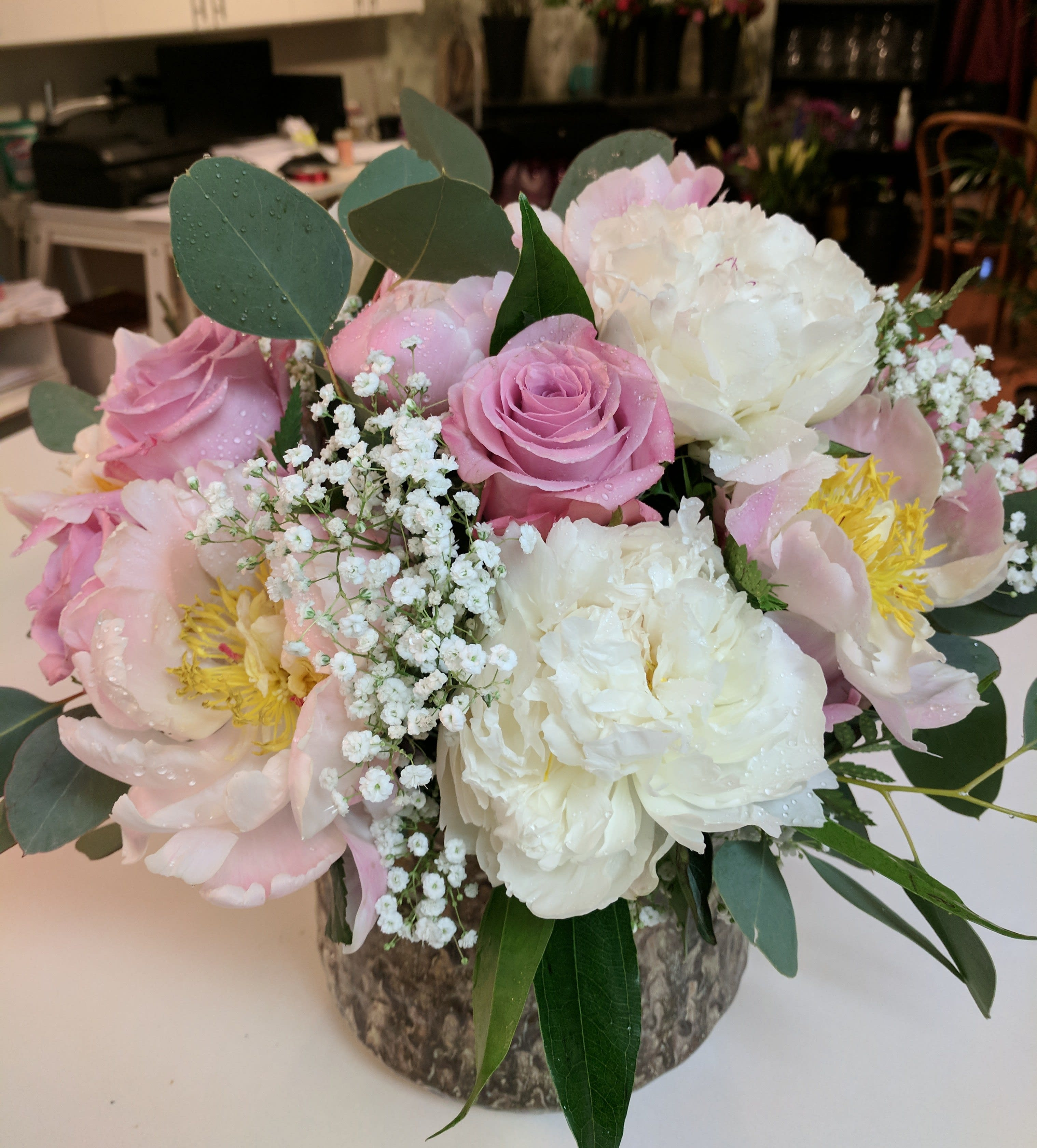 Peonies Bouquets In Austin Tx Flowers Are Happy