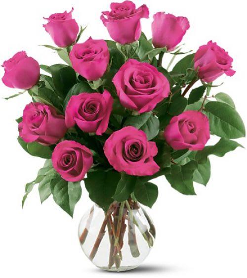 Classic Pink Roses In Mclean Va Flowers Plants Etc