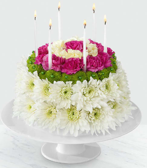 FTD The Wonderful WishesTM Floral Cake
