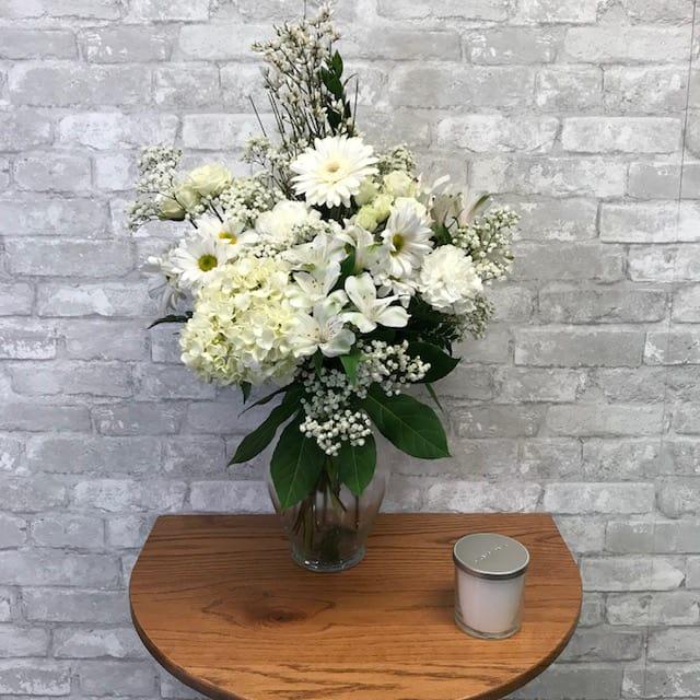 Beautiful You White Fg204w In Bensalem Pa Flower Girl Florist