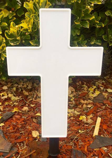 Eternal Light Cross Solar Lighted Size 10 X 14 In Brooklyn Ny